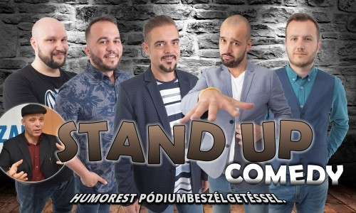Stand Up Comedy SPECIAL - MOZI - Budapest | Stand Up Comedy Humortársulat
