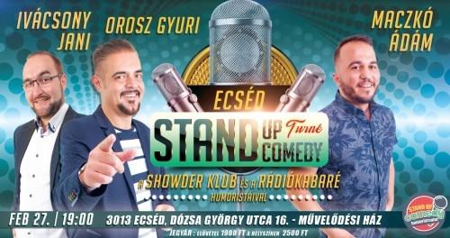 Stand Up Comedy TURNÉ - Ecséd | Stand Up Comedy Humortársulat