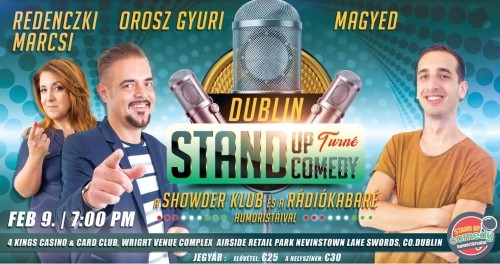 Stand Up Comedy LIVE Dublin | Stand Up Comedy Humortársulat