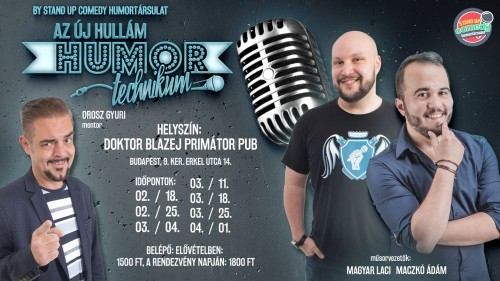 Humortechnikum 2019 by STAND UP COMEDY HUMORTÁRSULAT | Stand Up Comedy Humortársulat