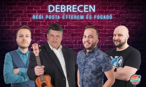 Ifjú, Showder Klubos humoristák stand up comedy estje Debrecenben | Stand Up Comedy Humortársulat