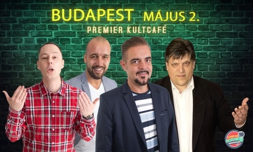 Stand Up Comedy Humortársulat - Neked lökik a sódert - Budapest | Stand Up Comedy Humortársulat