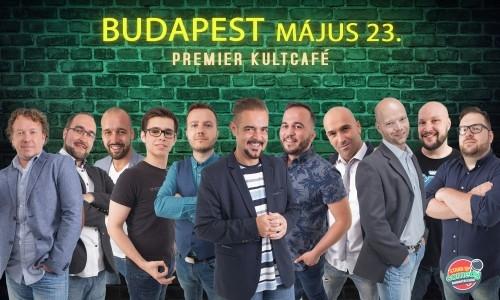 Stand Up Comedy DUMAPÁRBAJ - BUDAPEST | Stand Up Comedy Humortársulat