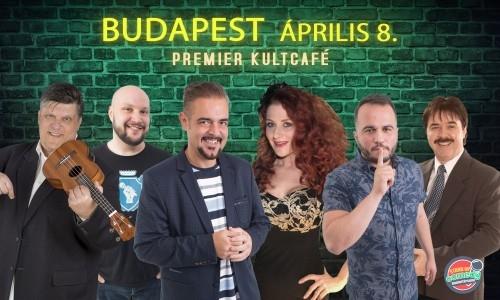 HUMORTECHNIKUM DÖNTŐ - BUDAPEST | Stand Up Comedy Humortársulat