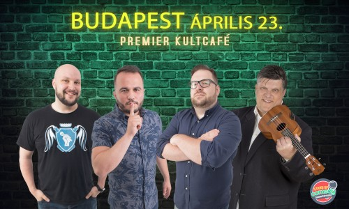Stand Up Comedy IMPRO - BUDAPEST | Stand Up Comedy Humortársulat