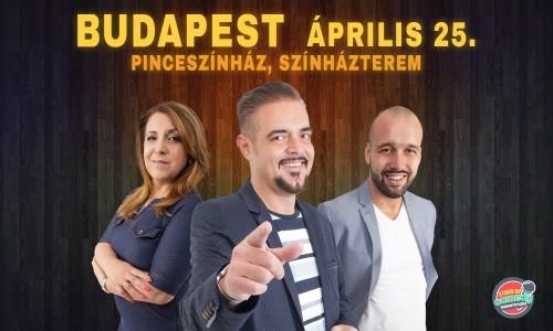 Orosz Gyuri: Szakítópróba című önálló estje - Budapest | Stand Up Comedy Humortársulat
