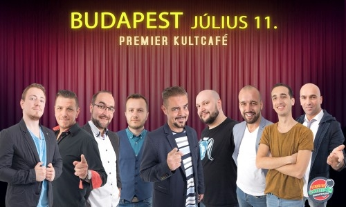 STAND UP COMEDY LIVE - BUDAPEST | Stand Up Comedy Humortársulat