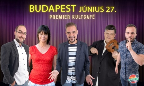 STAND UP COMEDY SPECIAL - BUDAPEST | Stand Up Comedy Humortársulat