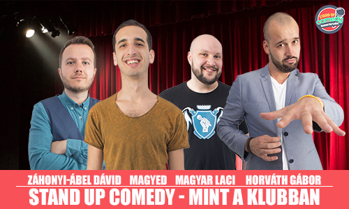 Stand up comedy MINT A KLUBBAN - BUDAPEST | Stand Up Comedy Humortársulat