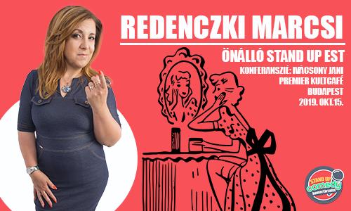 Redenczki Marcsi ÖNÁLLÓ EST - BUDAPEST | Stand Up Comedy Humortársulat