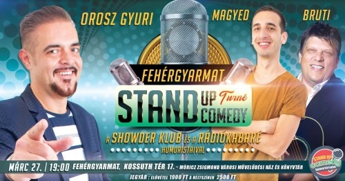 Fehérgyarmat jövünk!  | Stand Up Comedy Humortársulat