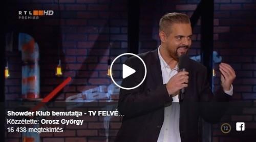 Showder Klub bemutatja - TV FELVÉTEL | Stand Up Comedy Humortársulat