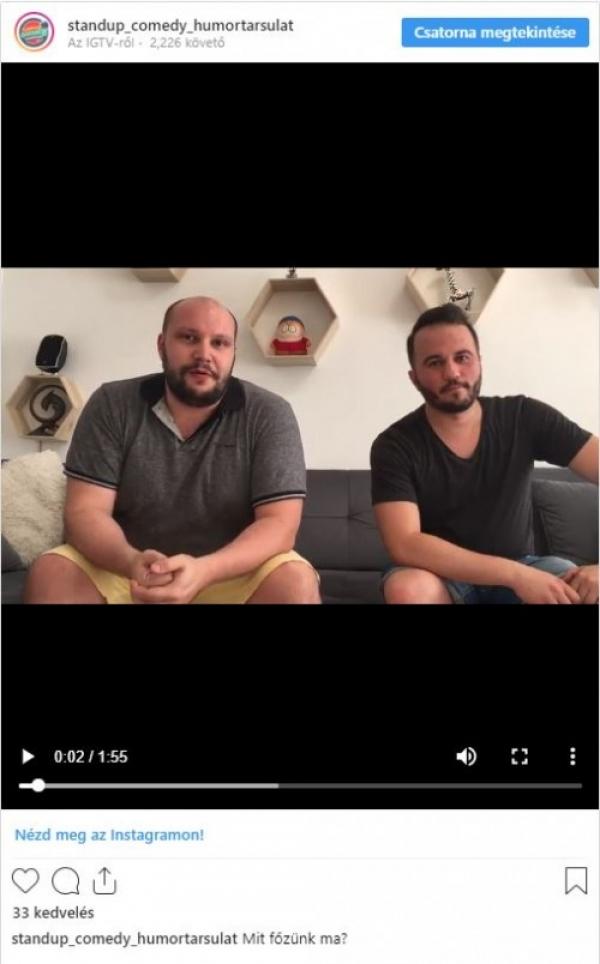KULISSZA VIDEÓ - Mit főzünk ma? | Stand Up Comedy Humortársulat