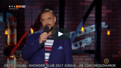 Orosz Gyuri és a PANDA sztori - Showder Klub 2017 | Stand Up Comedy Humortársulat